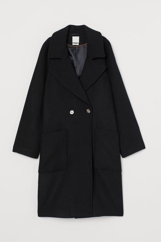 Wool-blend Coat - Black - Ladies | H&M US