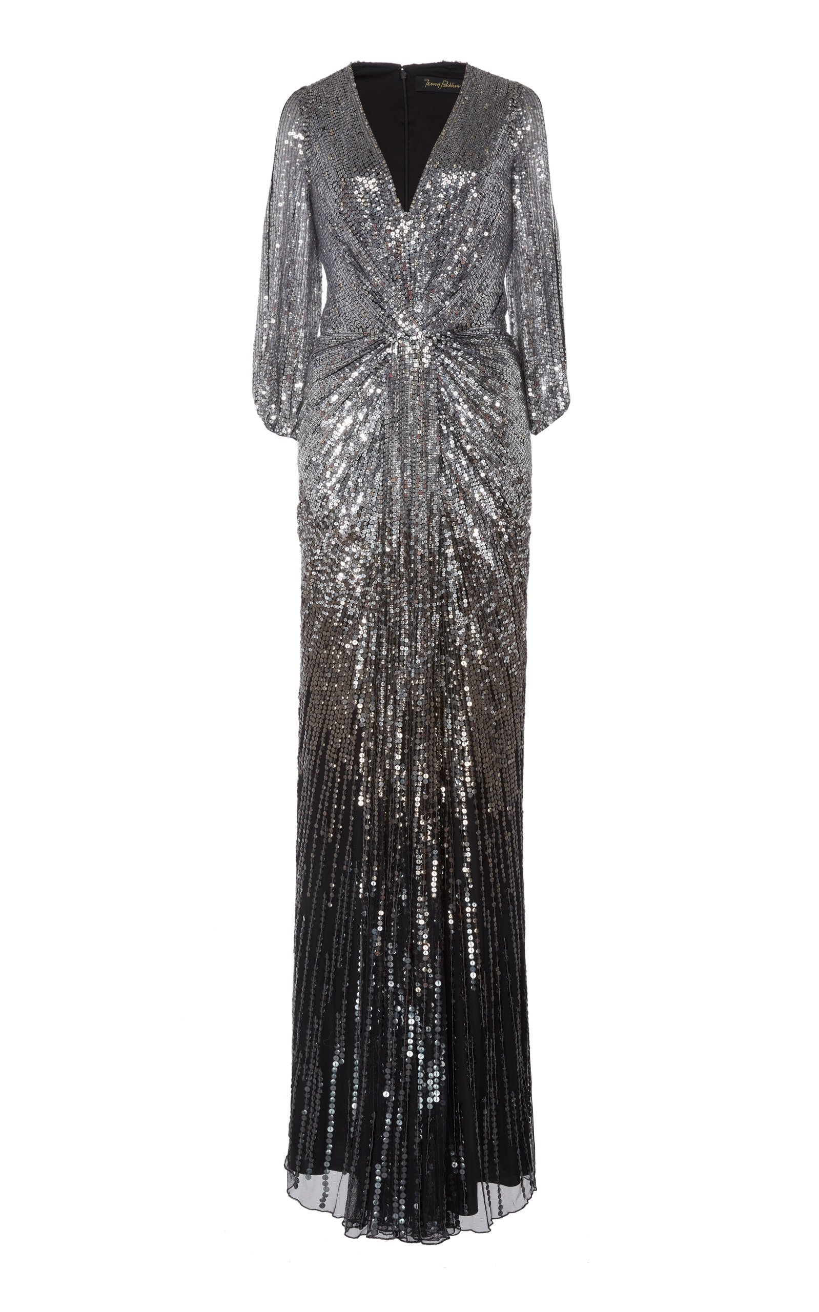 Jenny Packham Jacinta Sequined Tulle Gown