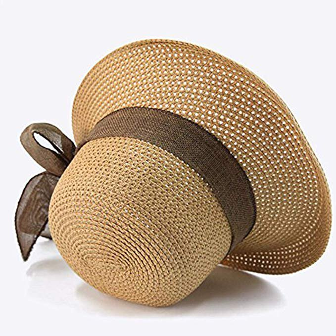 Wide Brim Straw Summer Hat