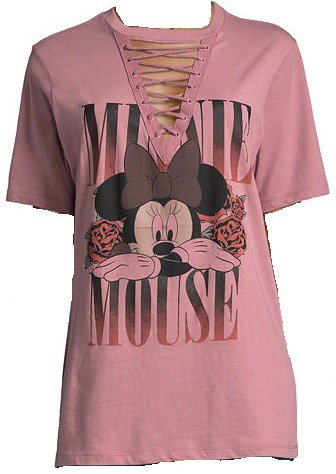 Minnie Mouse Lace Up Tee - Juniors