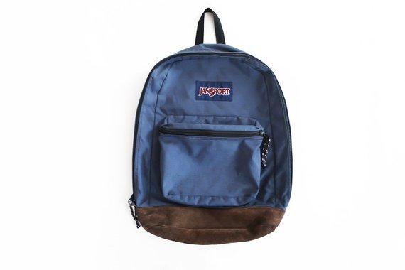 vintage backpack / Jansport backpack / 90s backpack / 1990s | Etsy