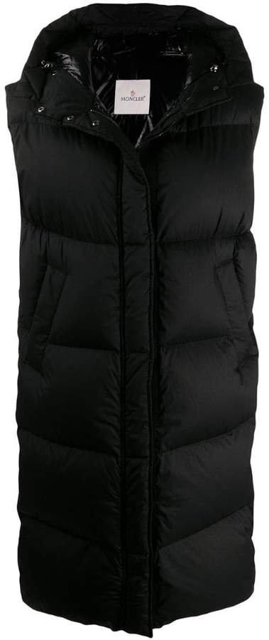 sleeveless padded coat