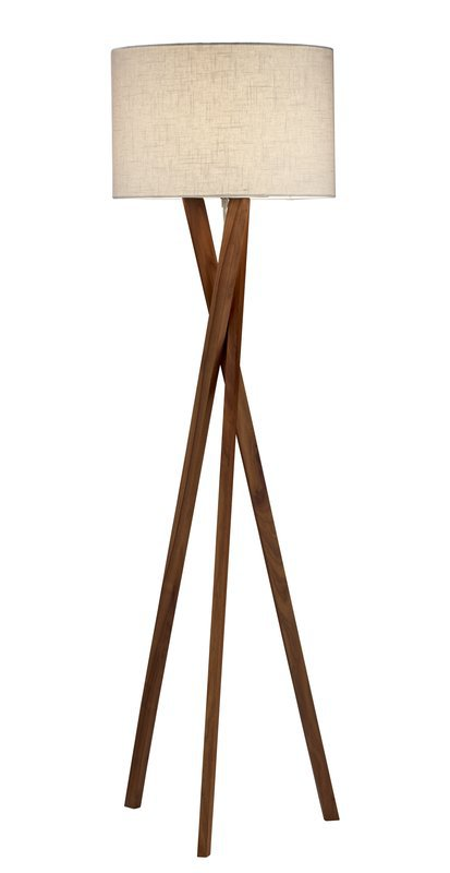 "Adesso Brooklyn 63"" Tripod Floor Lamp & Reviews 
