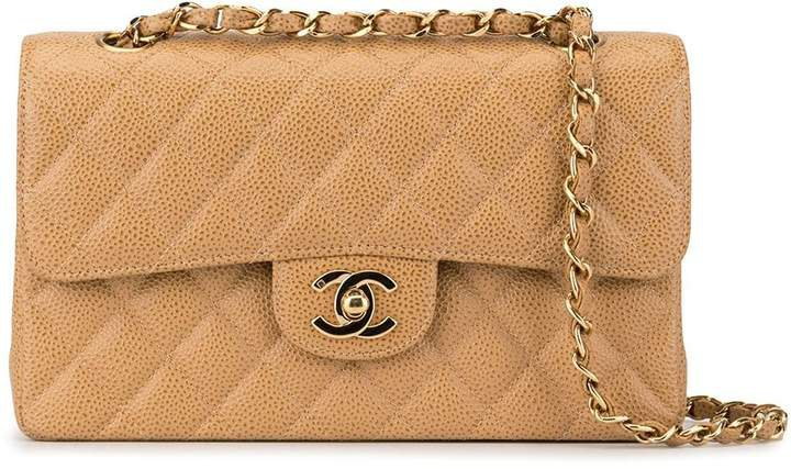 Pre-Owned Double Flap Chain shoulder bag