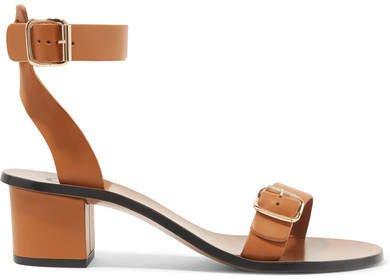ATP Carmen Leather Sandals - Tan