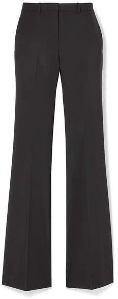 Demitria 4 Stretch-wool Flared Pants - Black