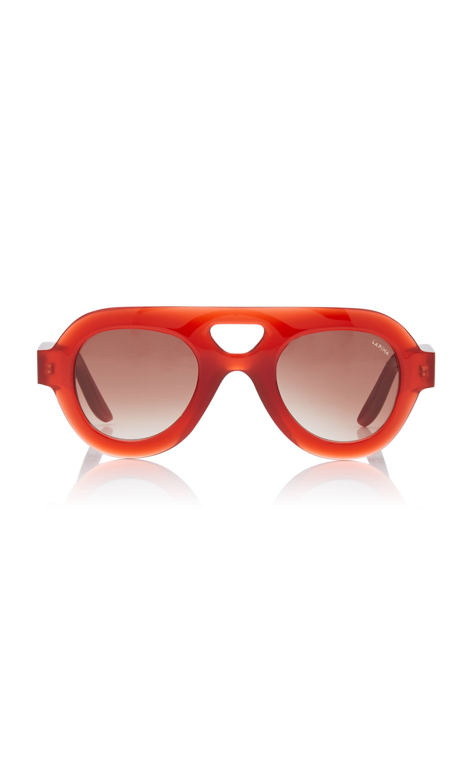 Lapima Milly Oversized Aviator-Style Acetate Sunglasses