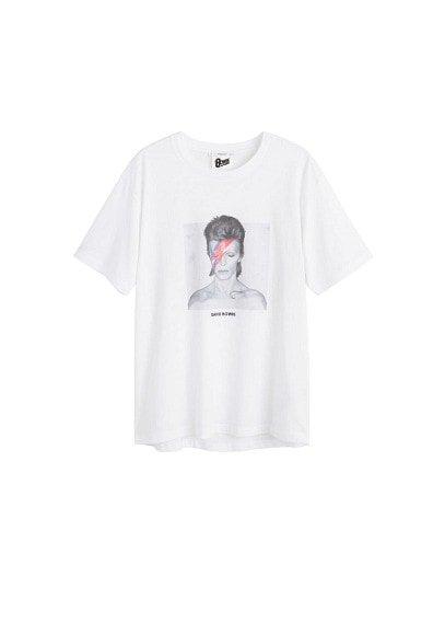 MANGO Bowie cotton t-shirt