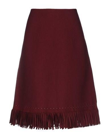 Alaïa Knee Length Skirt - Women Alaïa Knee Length Skirts online on YOOX United States - 35407528UN