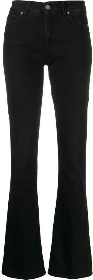 Two Denim bootcut mid-rise jeans