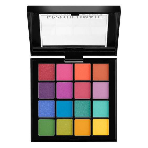 Nyx Eyeshadow Palette - Colors