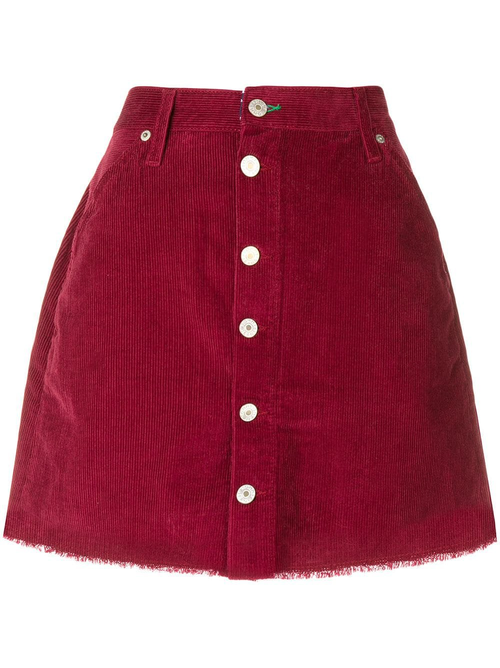 Tommy Jeans corduroy buttoned skirt £99 - Shop Online. Same Day Delivery in London