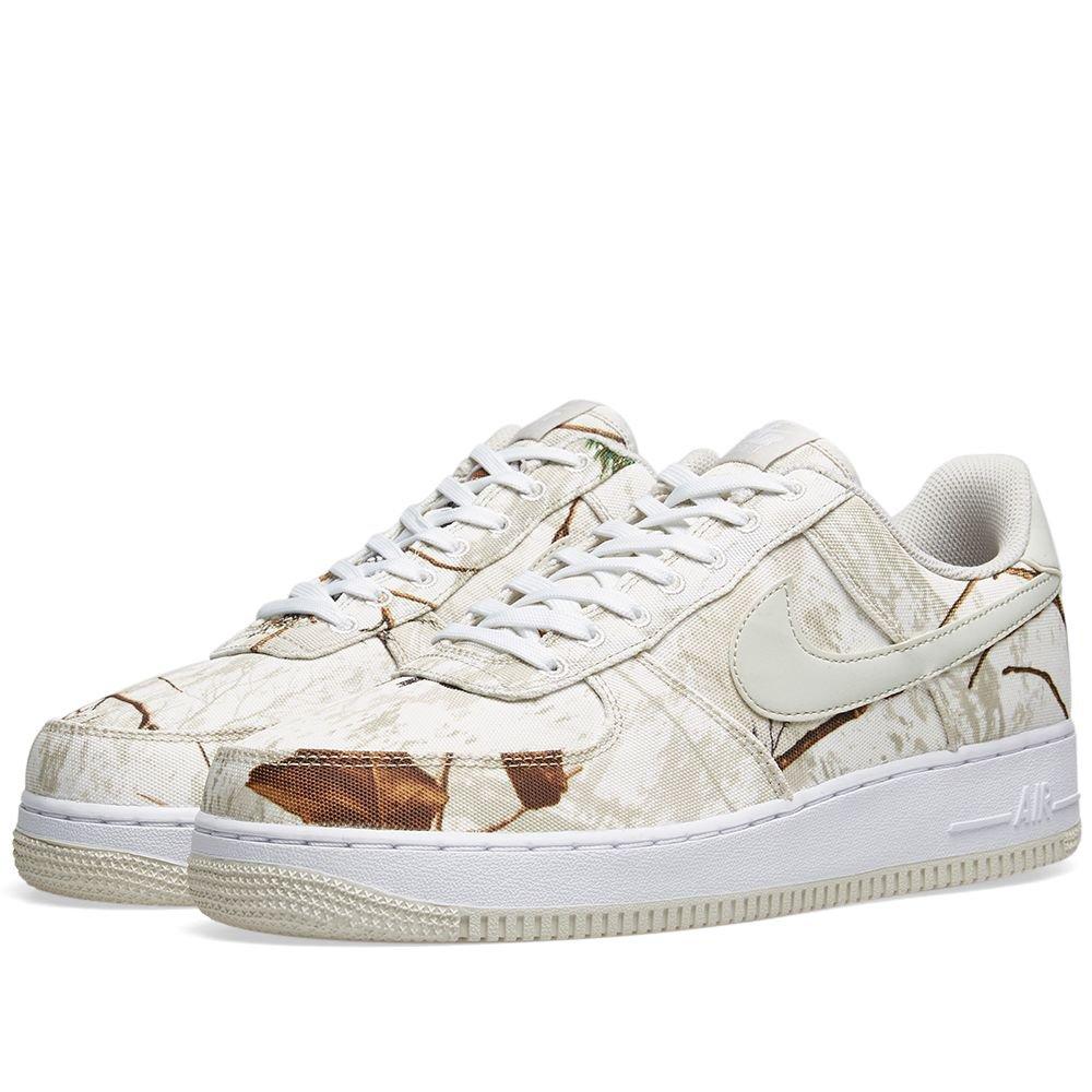 Nike Air Force 1 '07 LV8 3 'Realtree Camo' White & Bone | END.