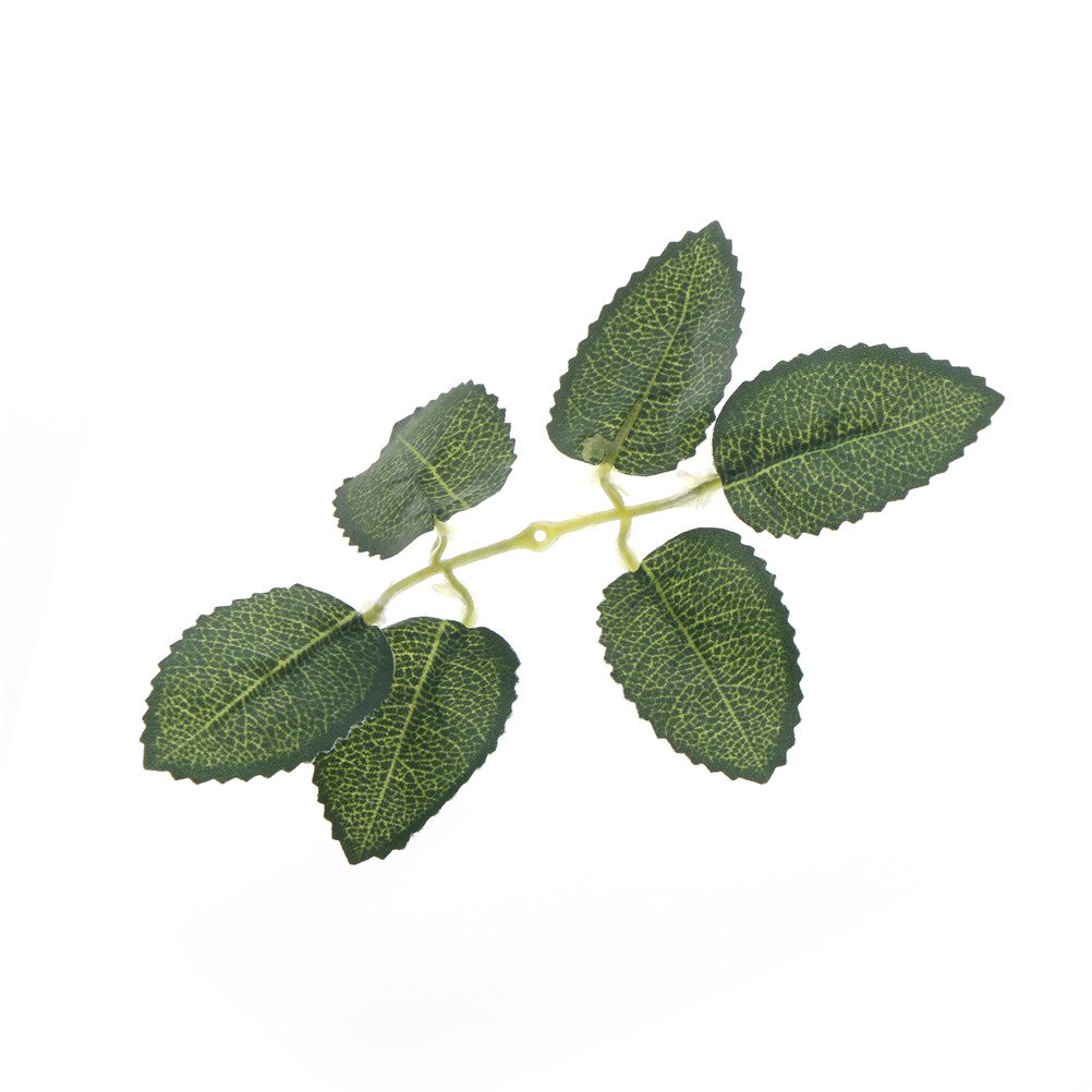 Green Artificial Leaf Flower For Wedding Home Decoration Foliage DIY Scrapbooking Craft Fake Flower Wholesale 50PCS-in Artificial & Dried Flowers from Home & Garden on Aliexpress.com | Alibaba Group