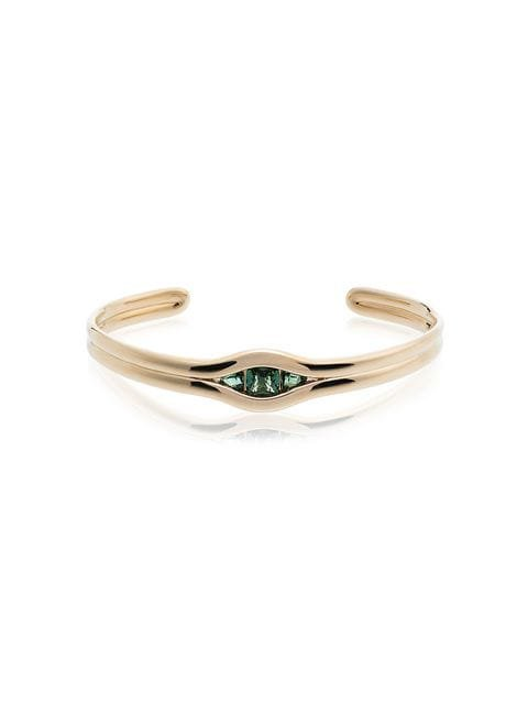 Fernando Jorge Trill 18kt Gold and Emerald Bracelet