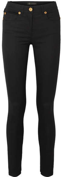 Low-rise Skinny Jeans - Black