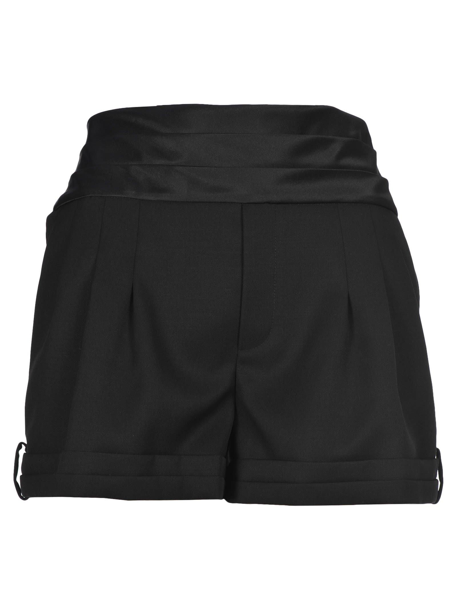 Saint Laurent Tuxedo Shorts