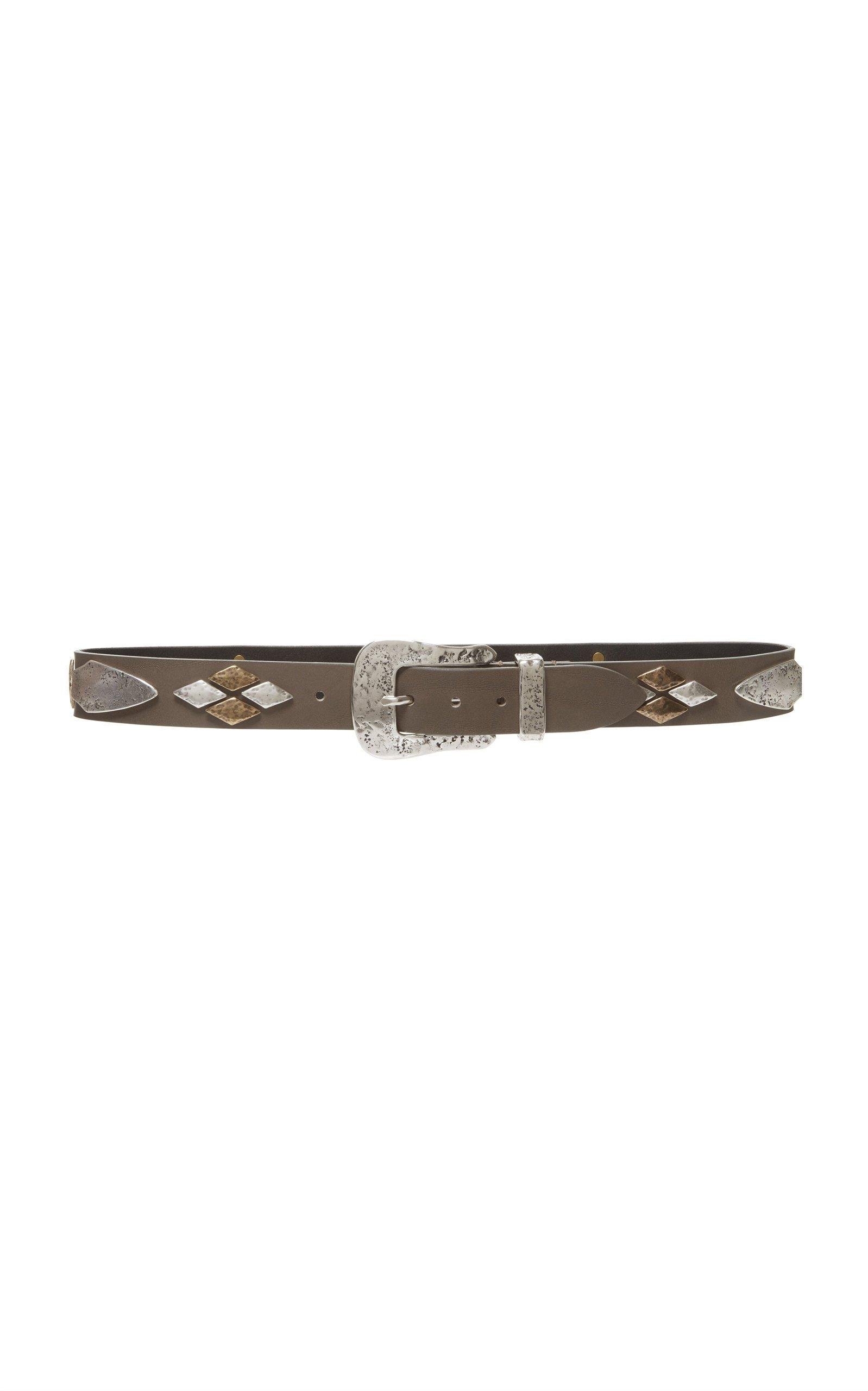 Isabel Marant Dern Embellished Leather Belt
