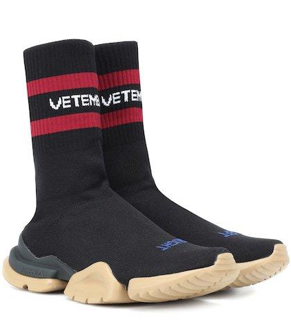 X Reebok Classic sock sneakers