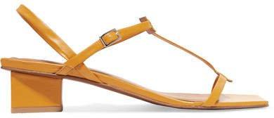 Krista Leather Sandals - Tan