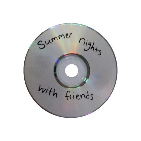 """""""summer nights with friends"""" cd"""