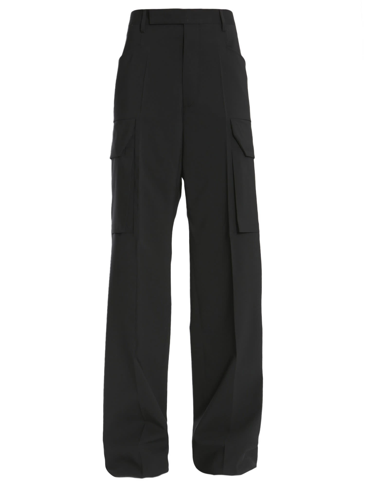 Rick Owens Cargo Tailored Trousers
