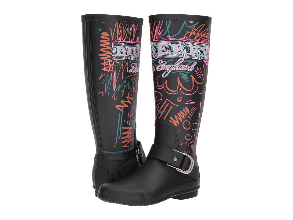 Burberry - Pipfield H L (Black) Women's Boots