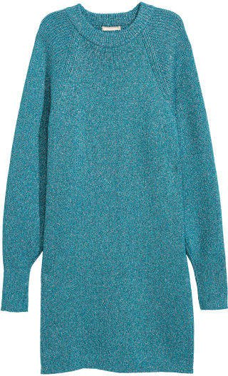 Glittery Dress - Blue