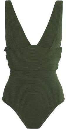 Embellished Cutout Swimsuit