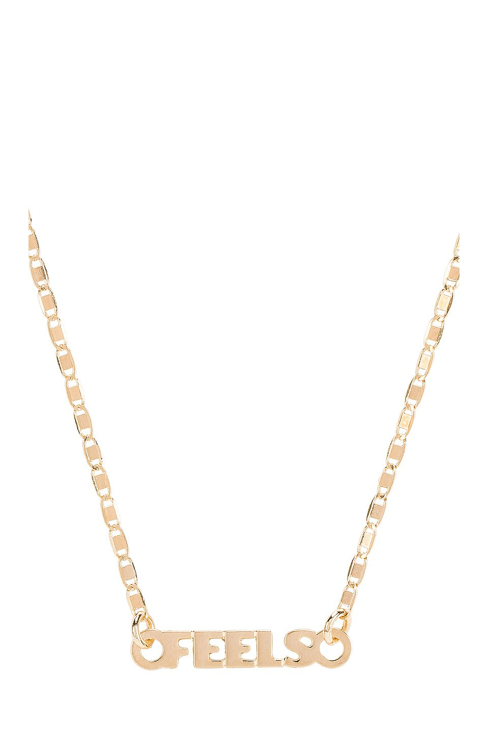Just Sayin Feels Necklace