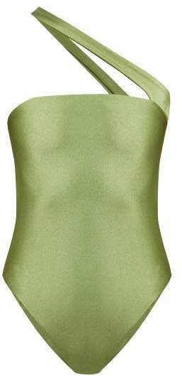Halo Bandeau Swimsuit - Womens - Green