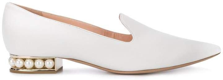 Casati pearl loafers