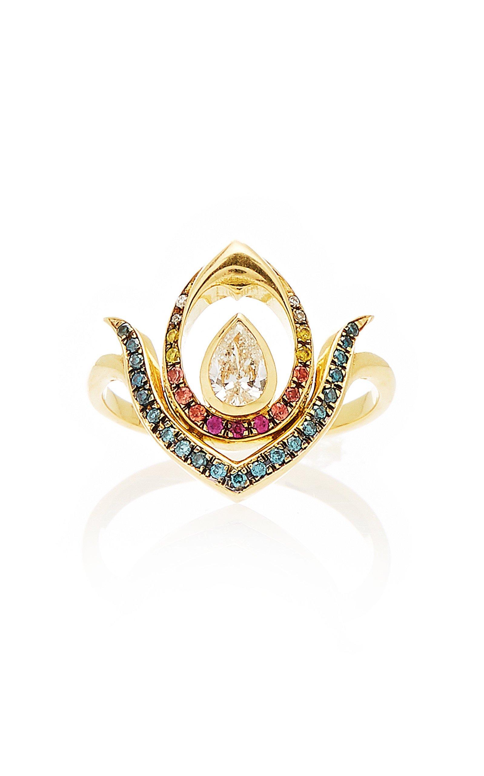 Ele Karela Diamond Anther Ring