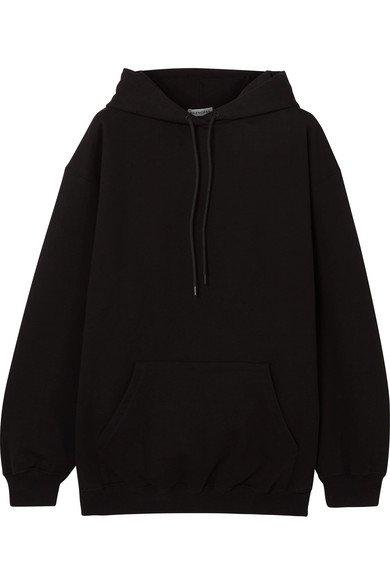 Balenciaga | Sweat à capuche oversize en jersey de coton imprimé | NET-A-PORTER.COM