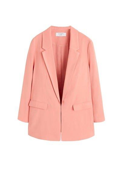 Violeta BY MANGO Structured suit blazer