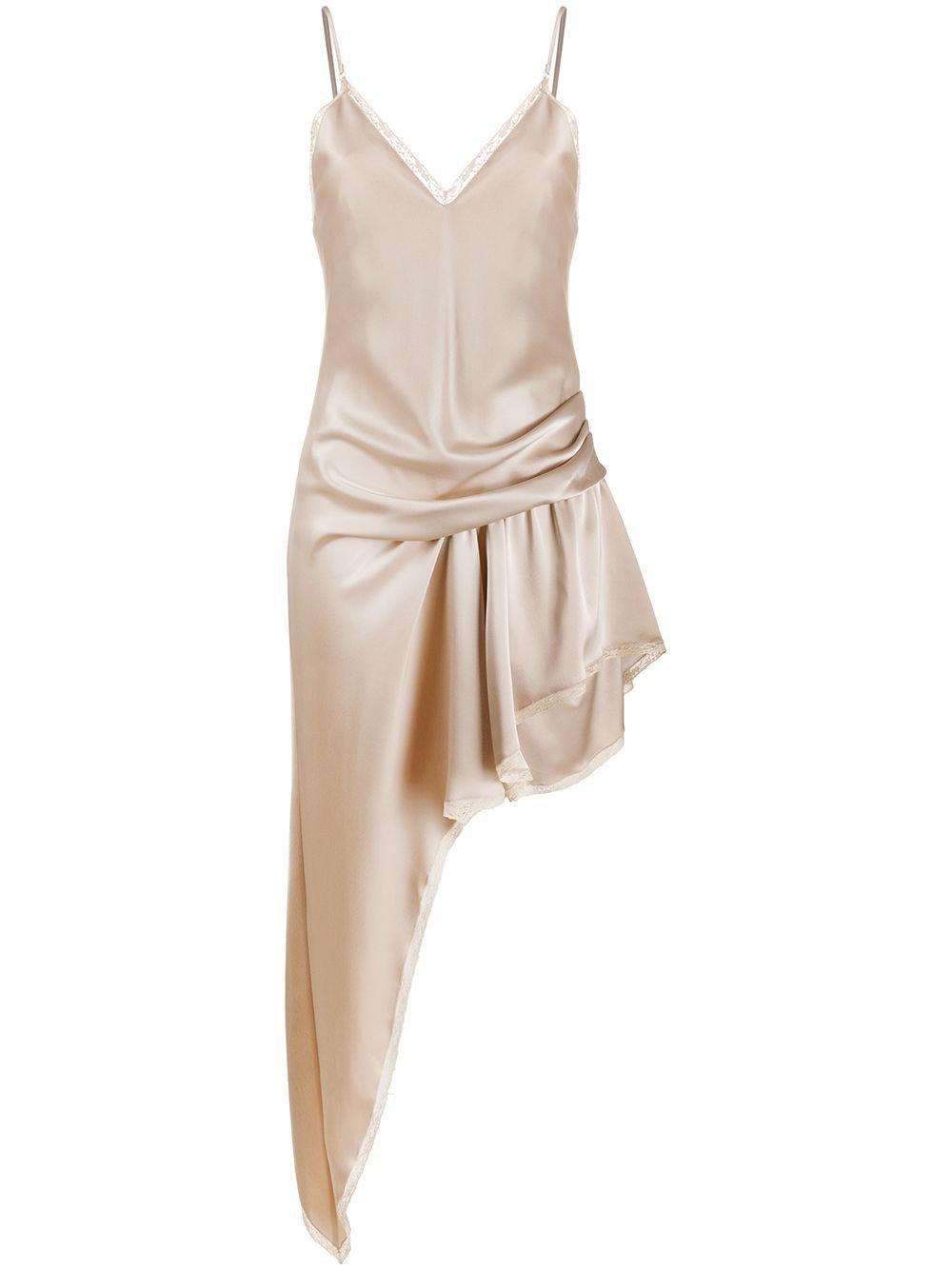 Alexander Wang Asymmetric Slip Dress | Farfetch.com