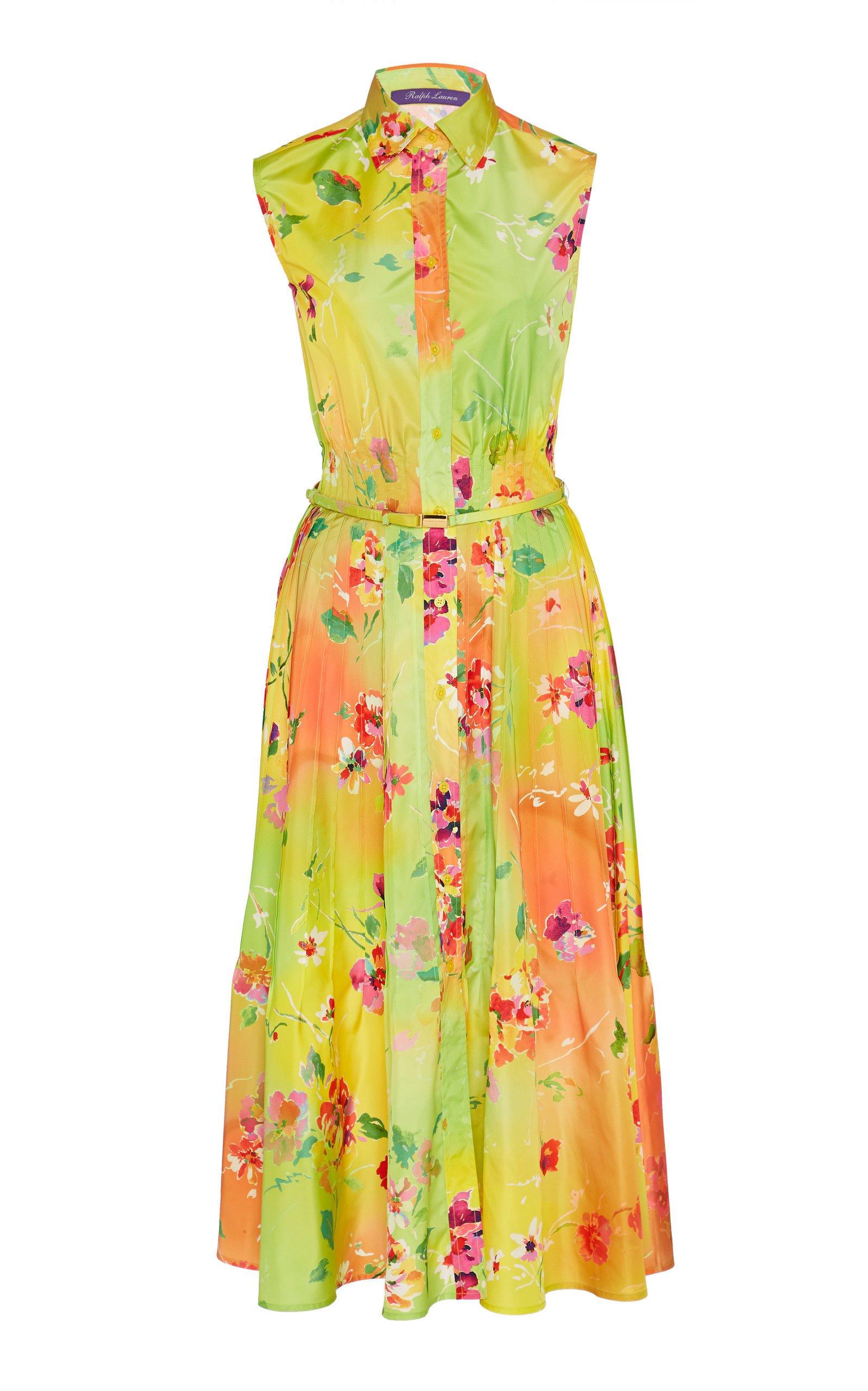 Ralph Lauren Darcy Floral Georgette Dress
