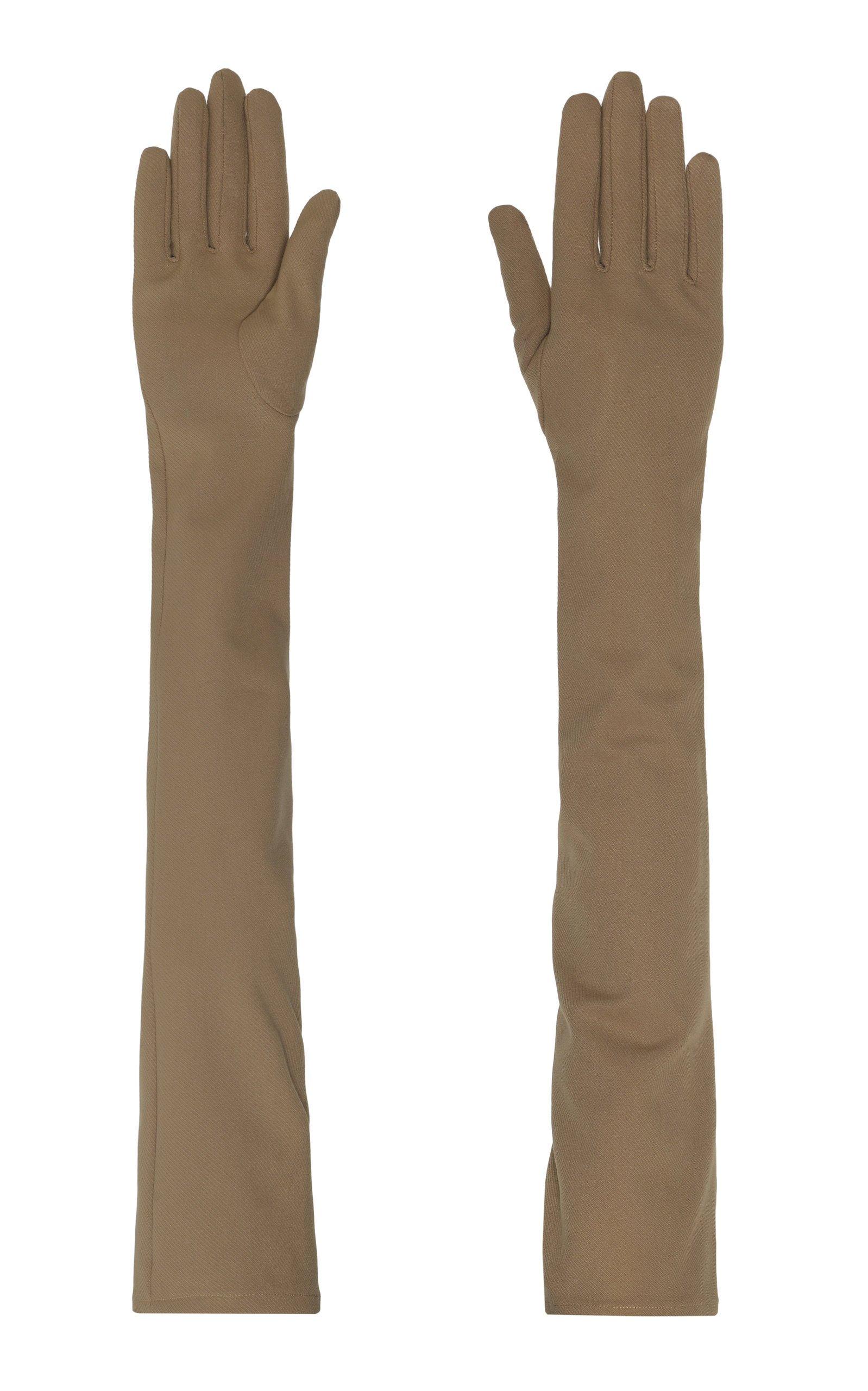 Lado Bokuchava Arm Length Cotton-Blend Gloves