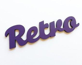 retro word - Google Search