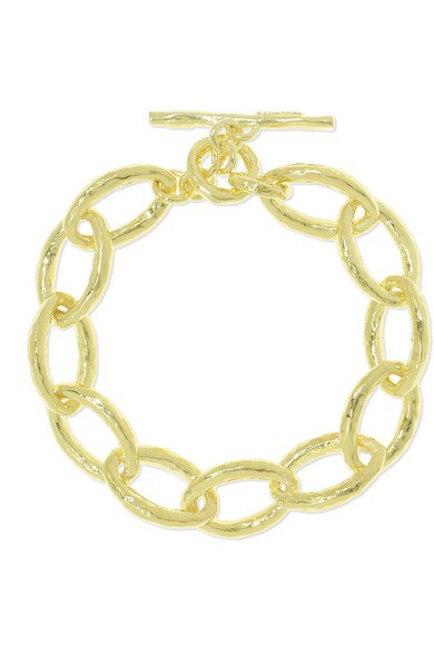 Ippolita   Classico Bastille 18-karat gold bracelet   NET-A-PORTER.COM