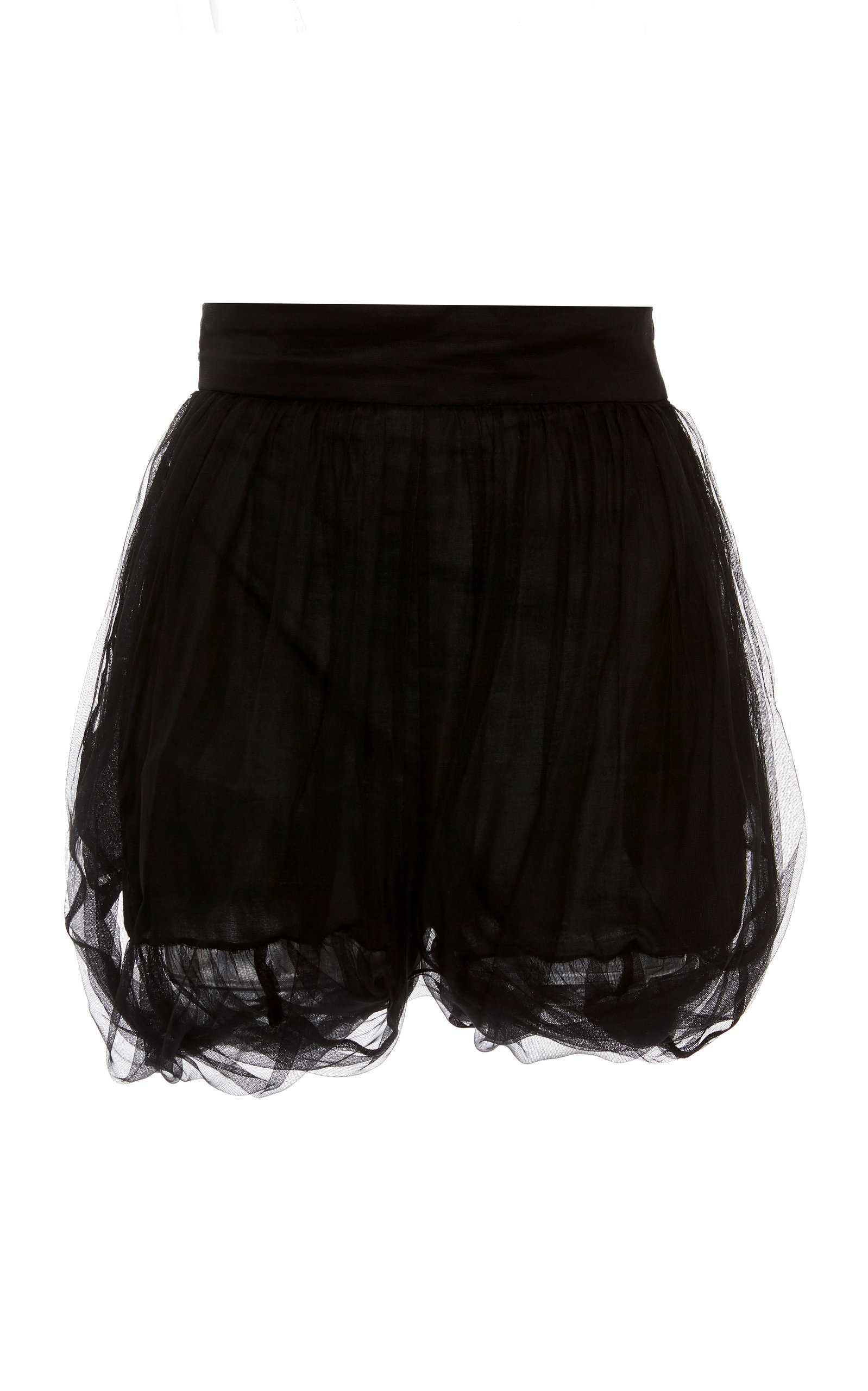 Silk Organza Shorts by Dundas | Moda Operandi