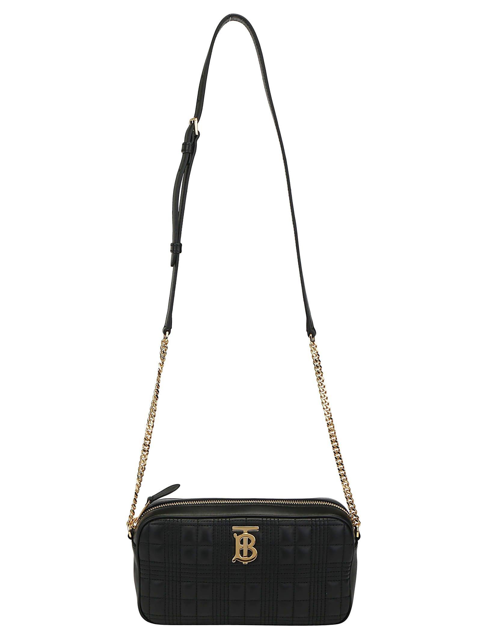 Burberry Lambskin Camera Shoulder Bag