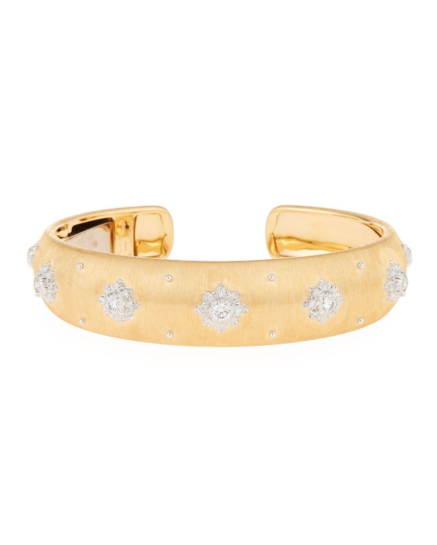 Buccellati 18k Diamond Macri Cuff Bracelet