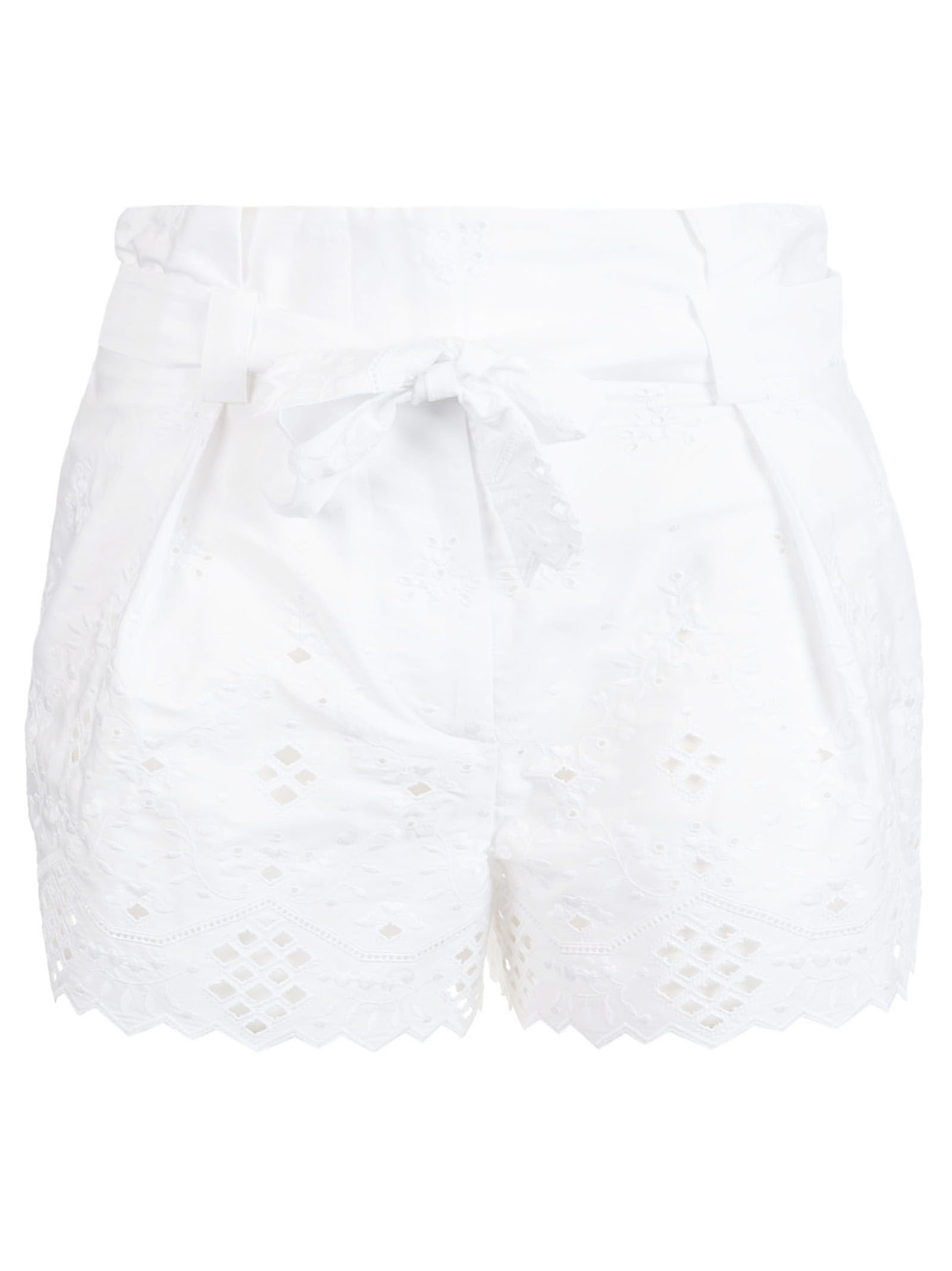 Alberta Ferretti Tie Waist Shorts