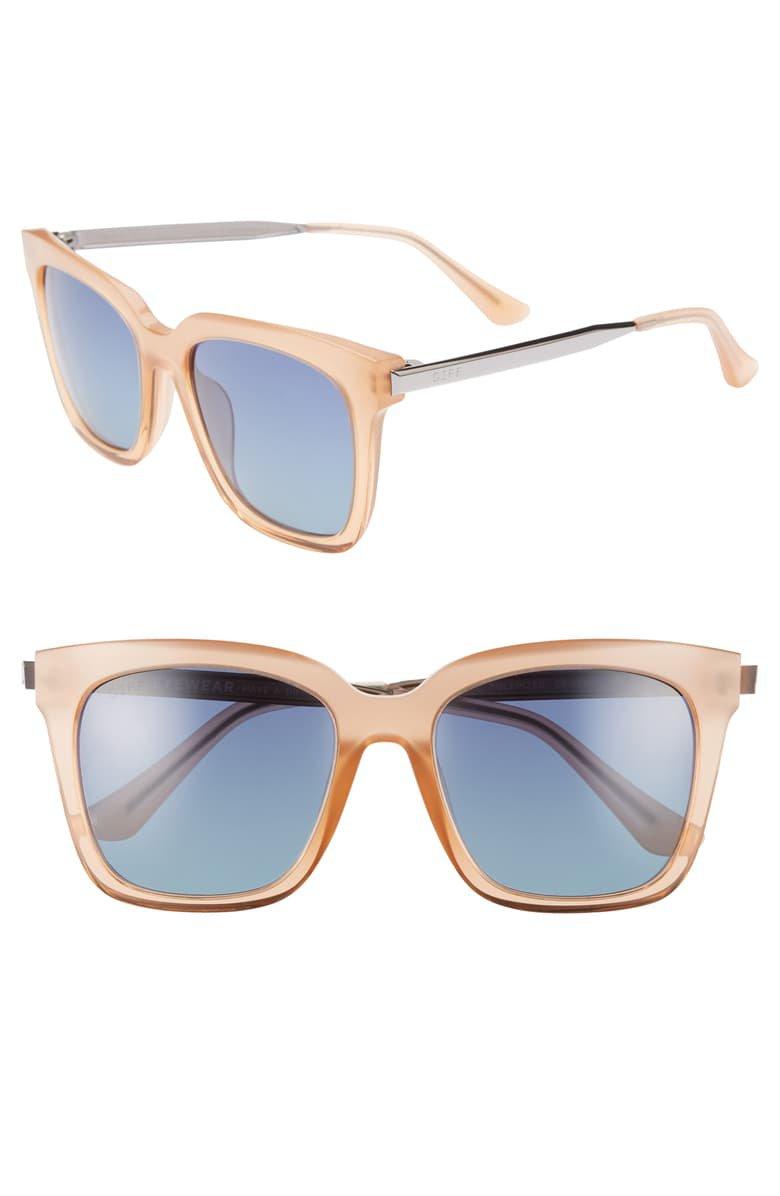 DIFF Bella 52mm Polarized Sunglasses | Nordstrom