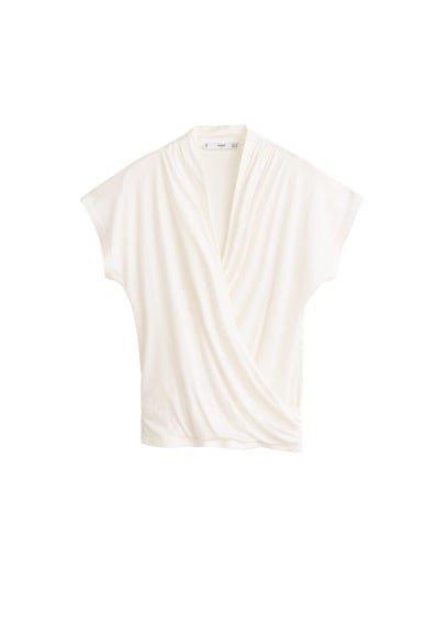 MANGO Wrapped sport t-shirt