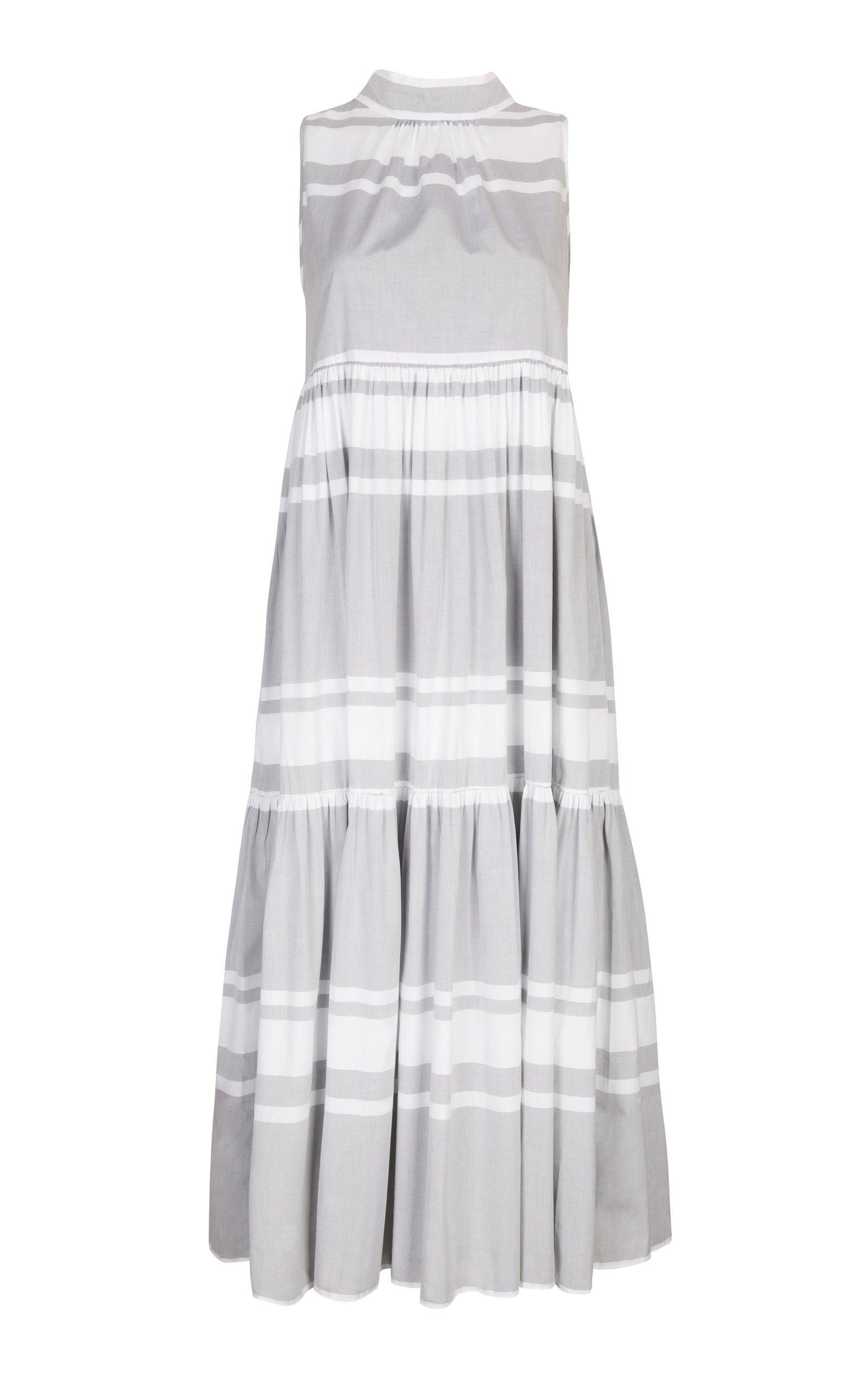 Asceno Tiered Midi Dress