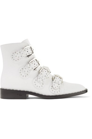 Givenchy | Elegant studded leather ankle boots | NET-A-PORTER.COM