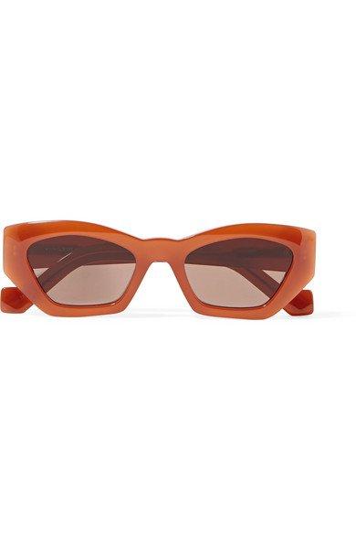 Loewe   Hexagon-frame acetate sunglasses   NET-A-PORTER.COM