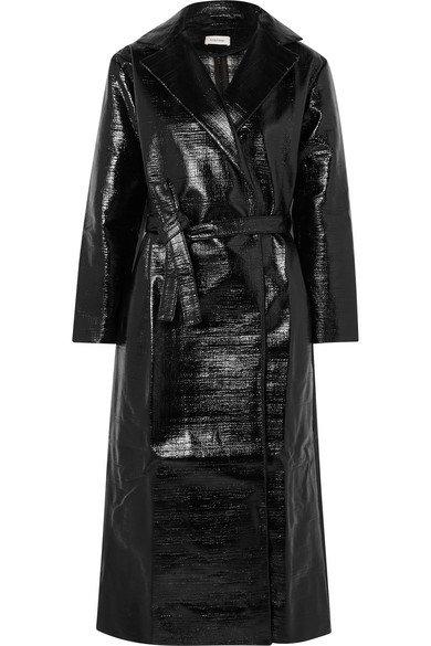 Totême | Mira coated cotton-blend trench coat | NET-A-PORTER.COM